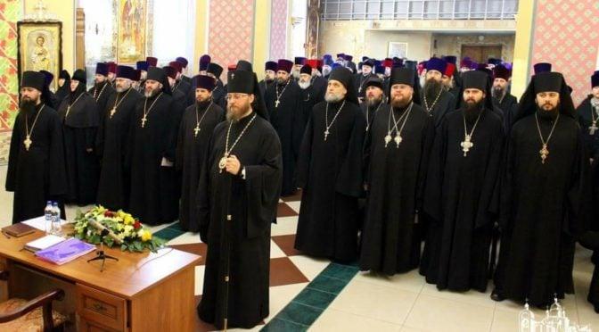 Епархиальное собрание духовенства Северодонецкой епархии