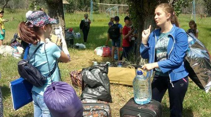 поездка воспитанников воскресной школы в православный лагерь