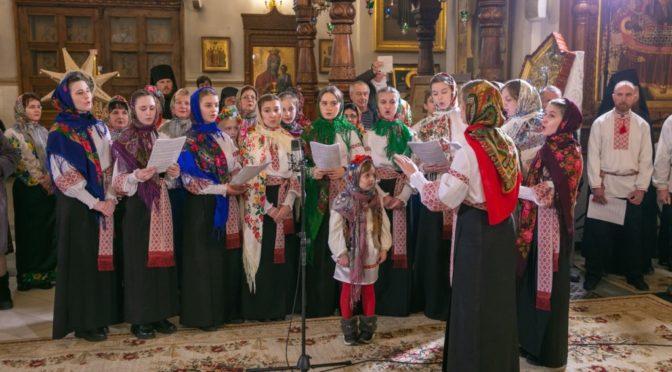 Фестиваль колядок в Свято-Успенской Святогорской Лавре