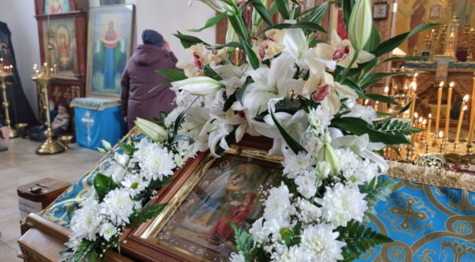 07.04.2021 Благовещение Пресвятой Богородицы