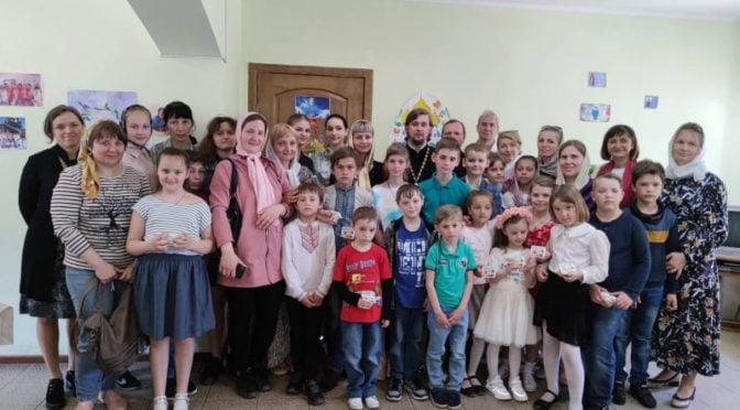 Праздник жен-мироносиц в воскресной школе